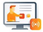 Image: Live Online Training Icon