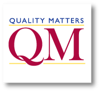 Image: Quality Matters Certification Logo