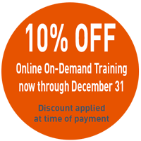 Image: On-Demand Training Sale 10% Off