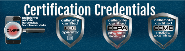 Graphic: Certification Credentials